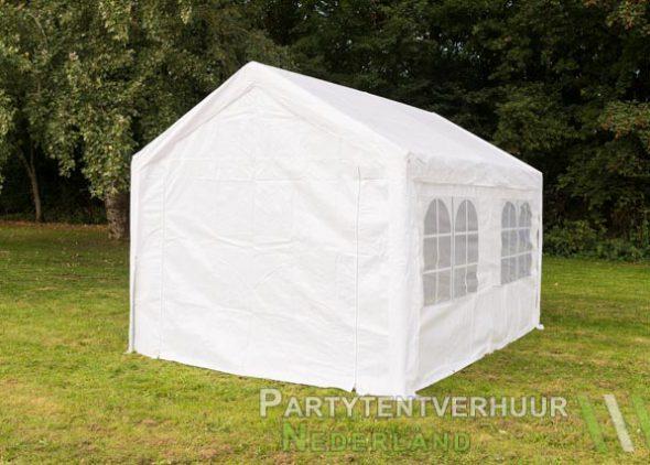 Partytent 3x4 meter achterkant huren - Partytentverhuur Den Bosch