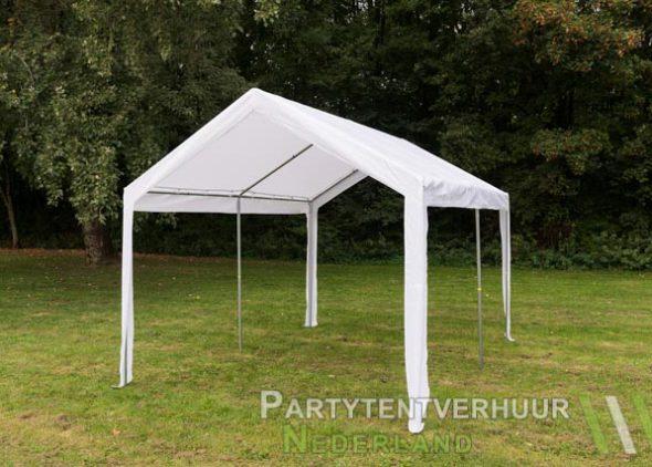 Partytent 3x4 meter schuin voorkant huren - Partytentverhuur Den Bosch