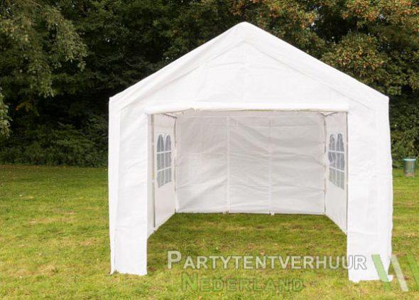 Partytent 3x4 meter voorkant huren - Partytentverhuur Den Bosch