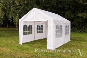 Partytent 3x4 meter zijkant huren - Partytentverhuur Den Bosch