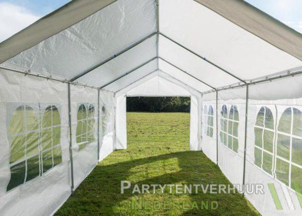 Partytent 3x6 meter binnenkant (2) huren - Partytentverhuur Den Bosch