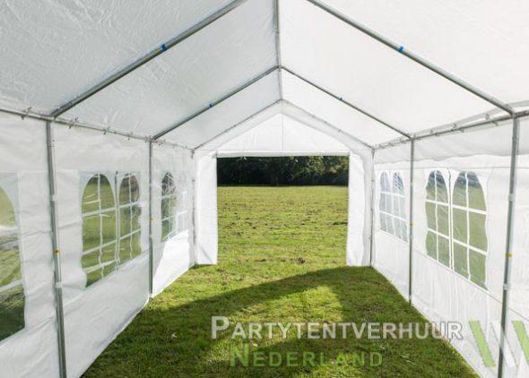 Partytent 3x6 meter binnenkant huren - Partytentverhuur Den Bosch