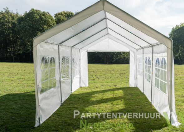 Partytent 3x6 meter open huren - Partytentverhuur Den Bosch