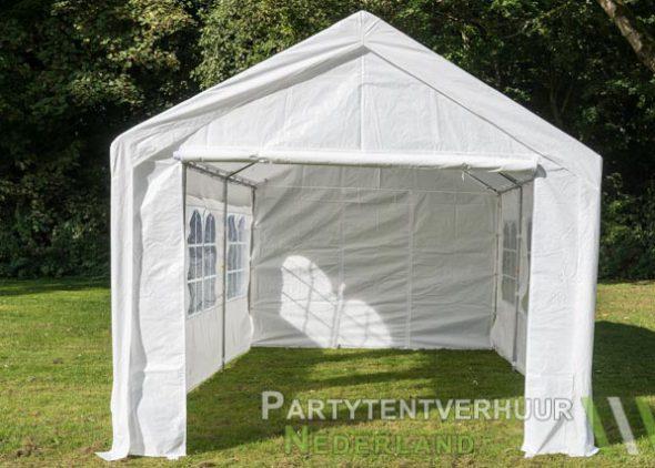 Partytent 3x6 meter voorkant huren - Partytentverhuur Den Bosch