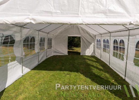 Partytent 4x8 meter binnenkant huren - Partytentverhuur Den Bosch