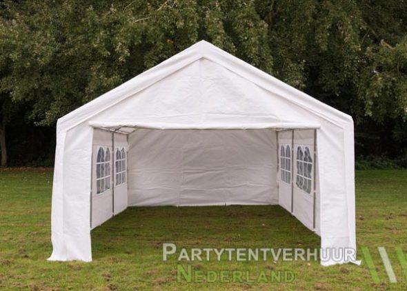 Partytent 4x6 meter voorkant huren - Partytentverhuur Den Bosch