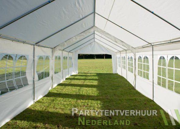Partytent 6x12 meter binnenkant open huren - Partytentverhuur Den Bosch