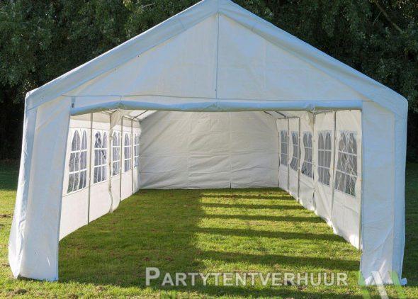 Partytent 6x12 meter voorkant huren - Partytentverhuur Den Bosch