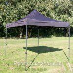 Easy up tent 3x3 meter schuin huren - Partytentverhuur Den Bosch
