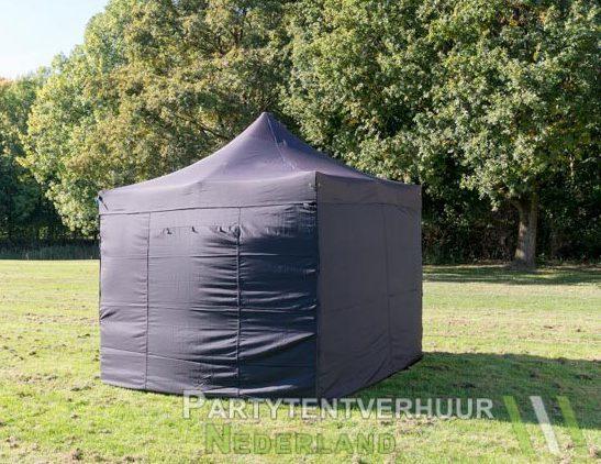 Easy up tent 3x3 meter voorkant huren - Partytentverhuur Den Bosch