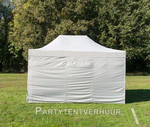 Easy up tent 3x4,5 meter achterkant huren - Partytentverhuur Den Bosch