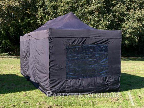 Easy up tent 3x6 meter achterkant huren - Partytentverhuur Den Bosch