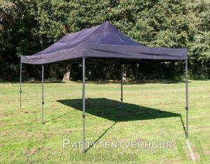 Easy up tent 3x6 meter schuin voorkant huren - Partytentverhuur Den Bosch