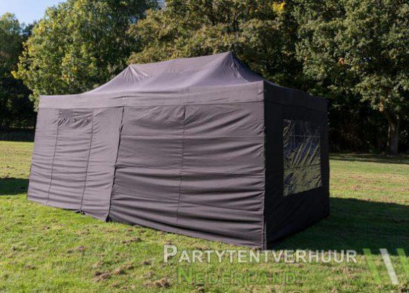 Easy up tent 3x6 meter zijkant huren - Partytentverhuur Den Bosch