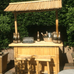 Bamboe bar huren in Den Bosch