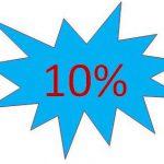 10% korting op tent met tentvloer