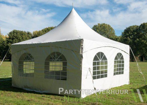 Pagodetent 4x4 meter achterkant huren - Partytentverhuur Den Bosch