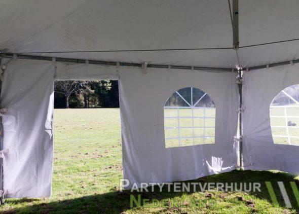 Pagodetent 4x4 meter binnenkant met deur huren - Partytentverhuur Den Bosch