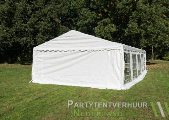 Partytent 5x10 meter achterkant huren - Partytentverhuur Den Bosch