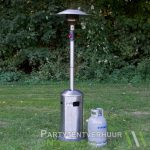 Patioheater met gasfles huren - Partytentverhuur Den Bosch