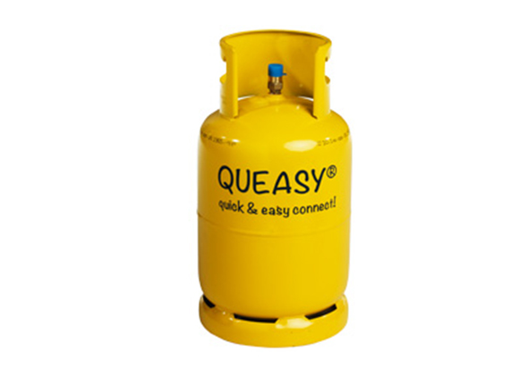 Queasy gasfles huren Den Bosch
